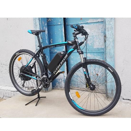 Rower klienta + Zestaw 48V 1000 watt, bateria 13Ah, zasięg 80 km. Rozm L