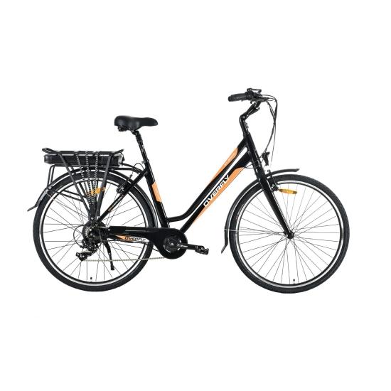 Rower Elektryczny Miejski Athena Black 36 V 10,4 Ah