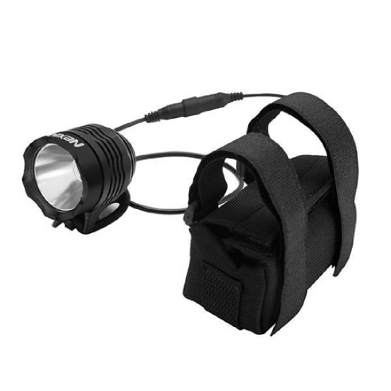 Reflektor rowerowy, akumulatorowy, alu., CREE XML-T60, 1000 Lm NEXELO