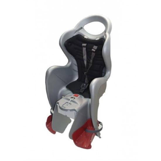 Fotelik Bellelli FOX CLAMP, na bagażnik,srebrny