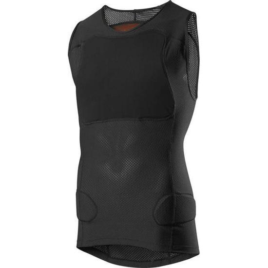 Koszulka z ochraniaczami bez rękawów Fox Baseframe Pro Black
