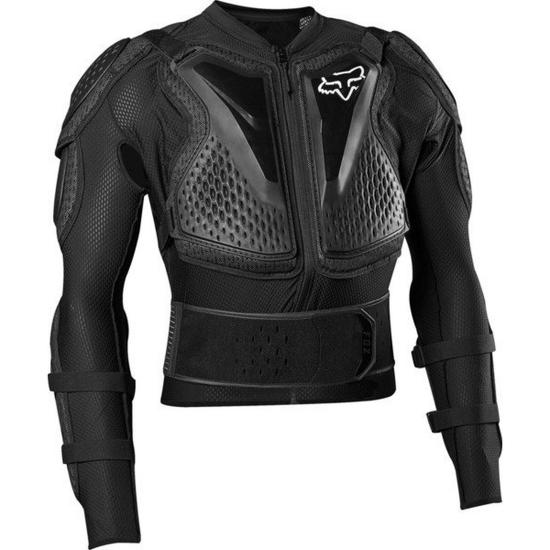 Koszulka z ochraniaczami Fox Junior Titan Sport Black 2021