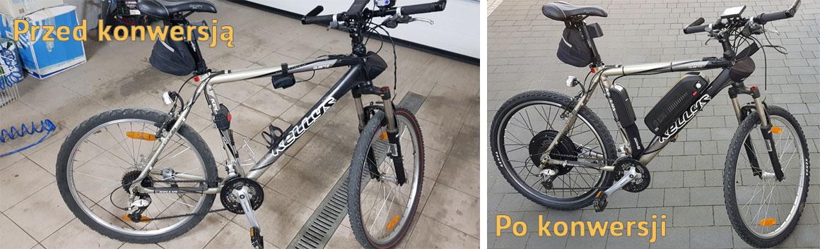 Montaż rowerów elektrycznych zduńska wola