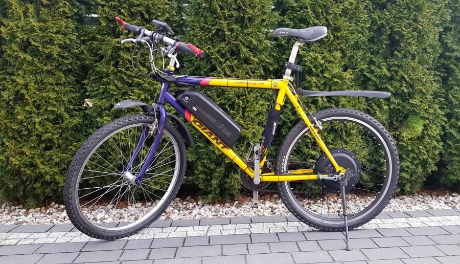 Rower elektryczny - zduńska wola