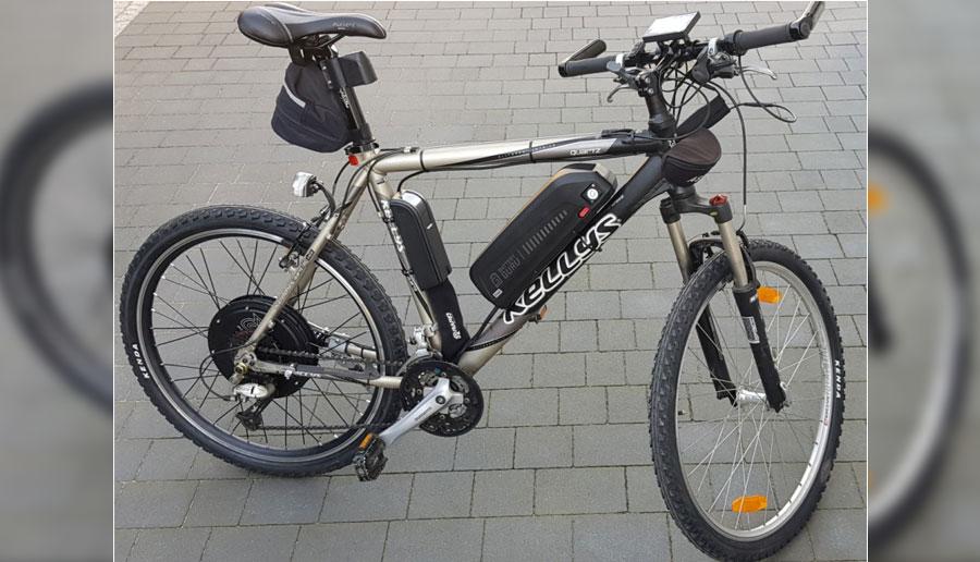 Rower elektrycznyt - testowanie